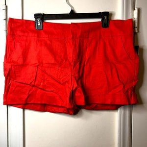 Red Shorts Size 16
